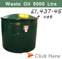 5000 Litre Waste Oil