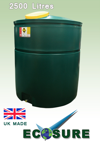 Ecosure Waste Oil Tank 2500 Litres